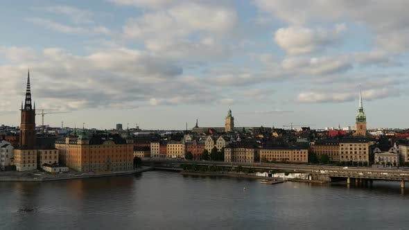 Thumbnail for Time lapse of Ridderholmen and Gamla Stan