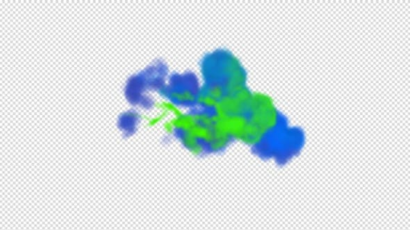 Colored Smoke Reveal Elements