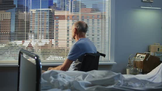 Thumbnail for Patient Waiting Nurse in Hospital Room