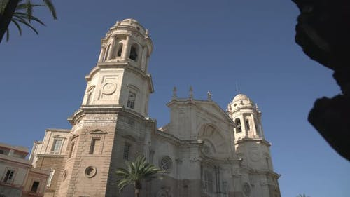 The top of the Cadiz Cathedral