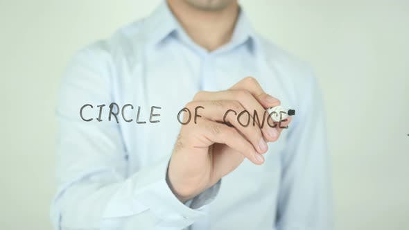 Thumbnail for Circle of Concern�, Writing On Screen