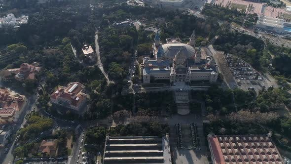 Thumbnail for Montejuïc in Barcelona from Above
