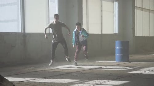 wo man Erfolgreiche Tänzer tanzen Breakdance