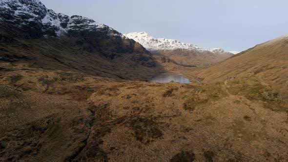 Loch Restil a Loch in the Highlands of Scotland