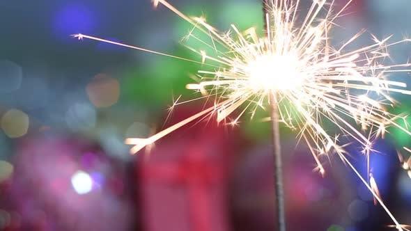 Thumbnail for New Year Sparkler