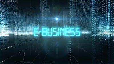 Skyscrapers Digital City Tech Word E-Business