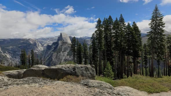 Thumbnail for Glacier Point Yosemite Valley Time Lapse