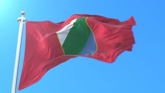 Abruzzo Flag, Italy