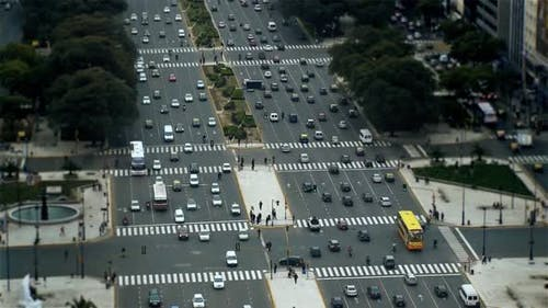 July 9 Avenue, The Widest Avenue in the World.