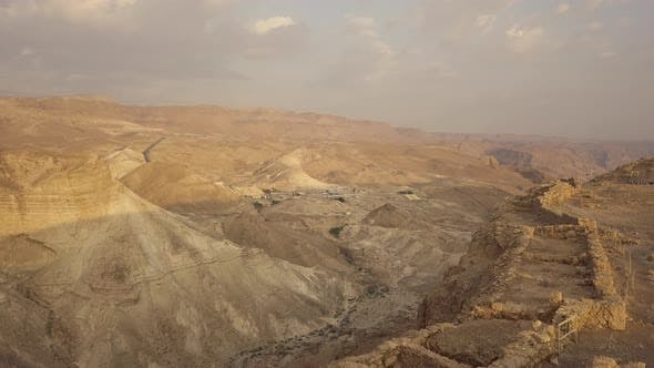 Thumbnail for View From the Masada Fortress Walls