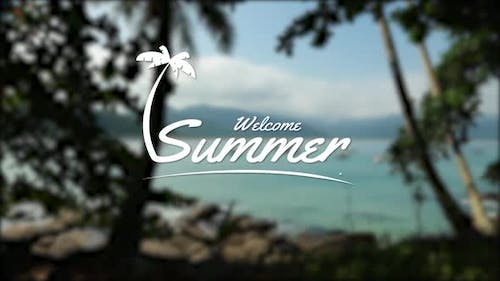 Welcome Summer Title