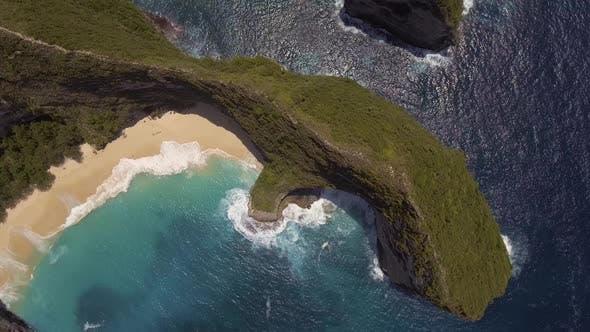 Thumbnail for Flying Above Kelingking Beach