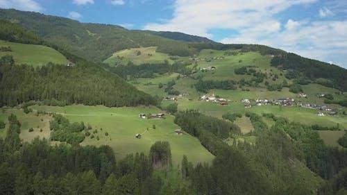 Alpine Village on the Mountainside