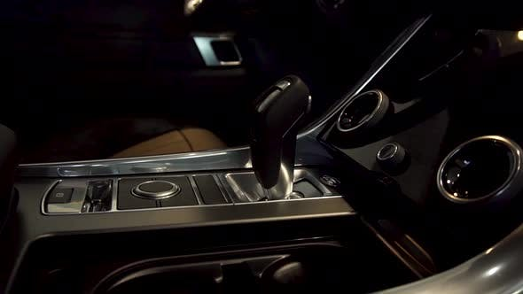 Thumbnail for Automatic Transmission And Gear Stick Of A Luxury Car
