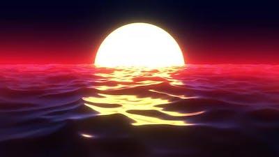 Retro Sunset 02