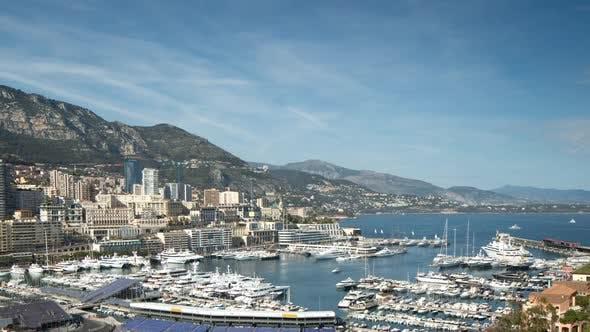 monaco monte carlo port harbour riviera france sea coast boats