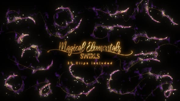Cover Image for Magical Elementals | Swirls