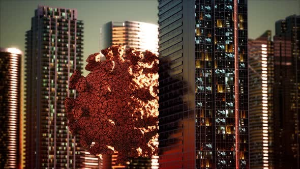 Thumbnail for Empty City Caused By Quarantine As a Result of Coronavirus Infection