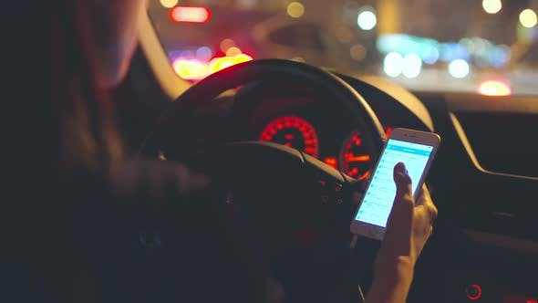 Cover Image for Using Phone while Driving