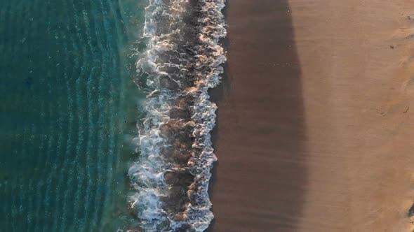 Streaked Multi Colored Seashore
