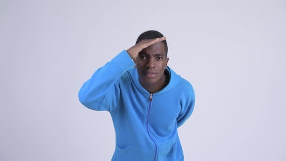 Thumbnail for Young Handsome African Man Searching Something