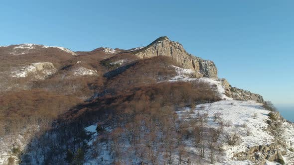 Thumbnail for Sunny Alp mountains in winter covered