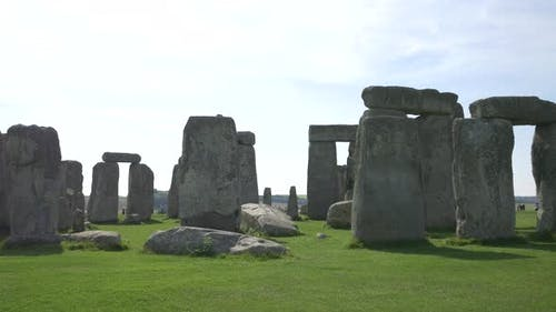The Stonehenge prehistoric monument