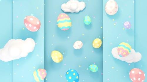 Cute Easter Eggs World