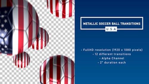 Metallic Soccer Ball Transitions - USA