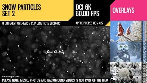 Snow Particles (6K Set 2)