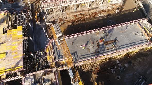 Thumbnail for Man Working on New Building Construction