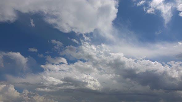 Spring Cumulus Rain Clouds 2