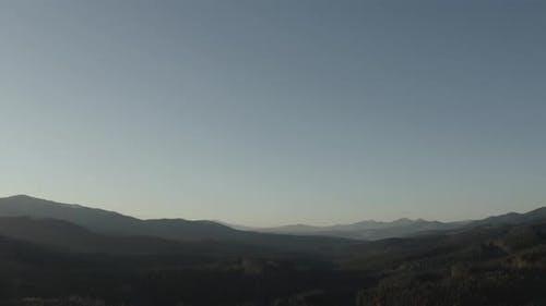 Mountain Panorama in the Carpathians