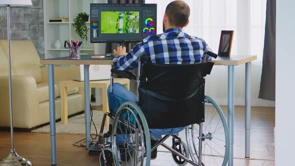 Disabled Professional Filmmmaker