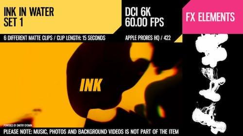 Ink In Water (6K Set 1)