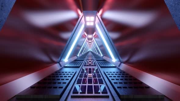 Thumbnail for Science Fiction corridor animation
