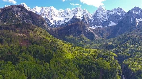 Thumbnail for Triglav National Park in Slovenia at Spring