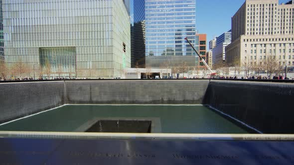 Thumbnail for The north pool at the 9/11 Memorial Park, New York City