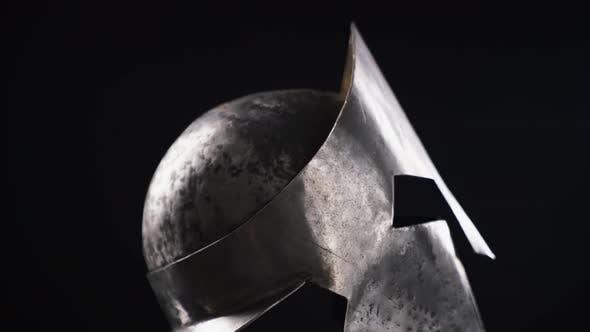 Thumbnail for Ancient Iron Spartan Helmet.