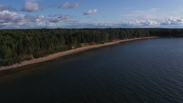 Thumbnail for Rocky Baltic Sea shoreline in Summer