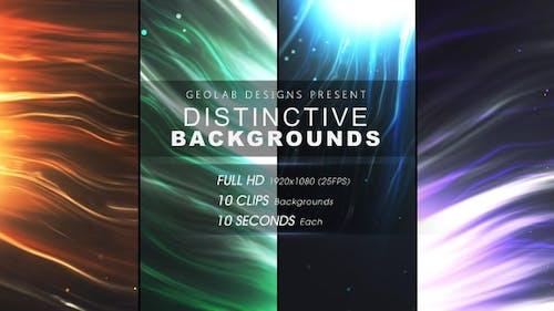 Distinctive Backgrounds