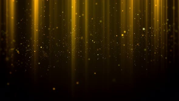 Gold Particle Background