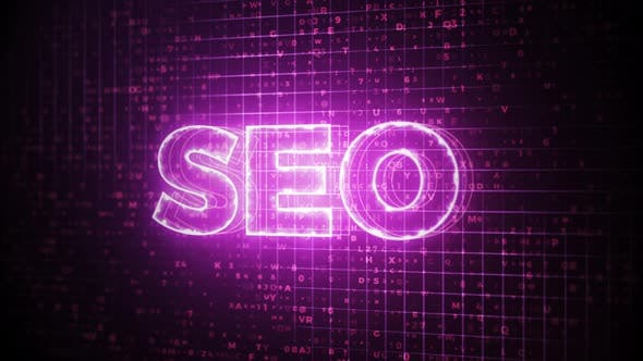Thumbnail for SEO Sign Creative Animation Background