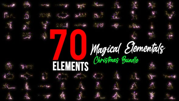 Thumbnail for Magical Elementals | Christmas Bundle Pack