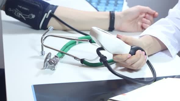 Thumbnail for Measurement Of The Patient's Blood Pressure