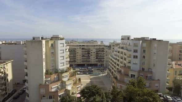 Thumbnail for Apartment buildings block in Nice, France, residential neighborhood, real estate
