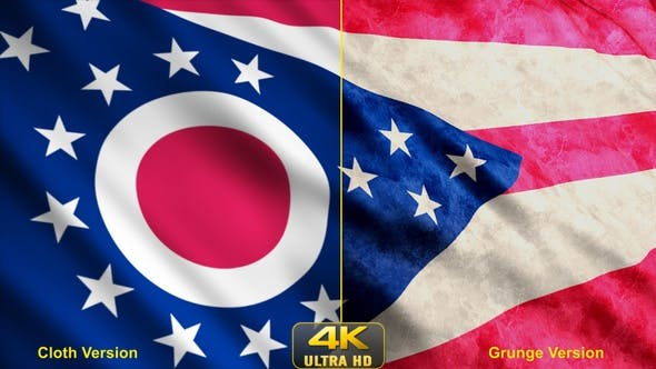 Thumbnail for Ohio State Flags