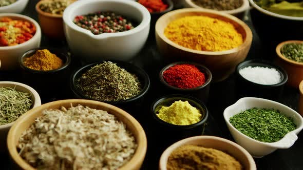 Thumbnail for Many Bowls with Different Spices