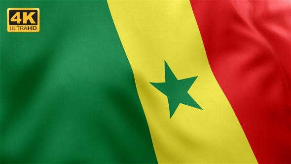 Thumbnail for Senegal Flag - 4K
