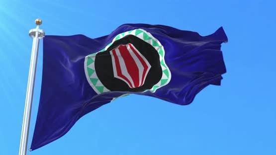 Flag of Bougainville, Papua New Guinea